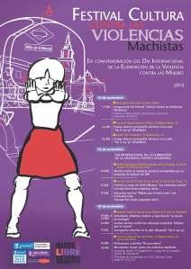 CARTEL Festival Cultura contra las violencias machistas VILLA DE VALLECAS