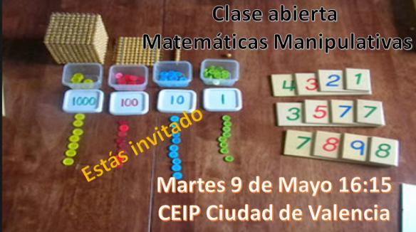 CARTEL CLASE ABIERTA MATEMATICAS MANIPULATIVAS CDAD VALENCIA.png